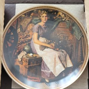 Norman Rockwell Plate 1981